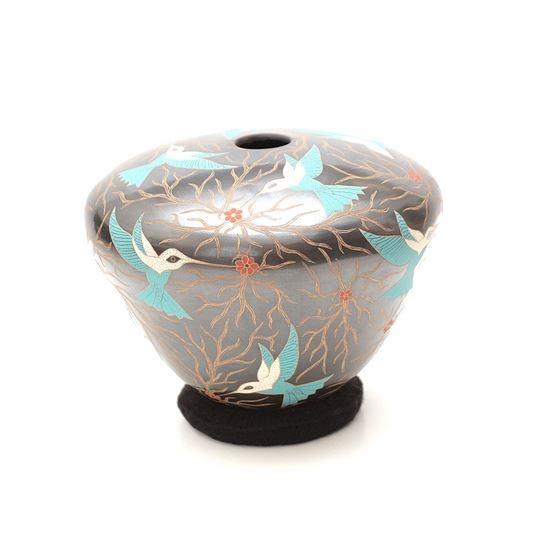 Hummingbird Vase
